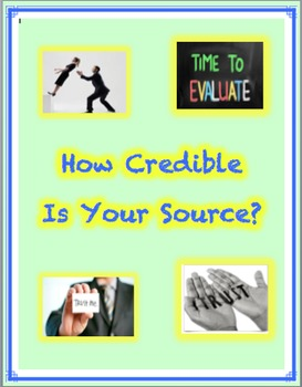 Website Credibility Checklist