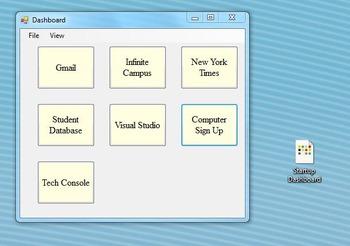 Website/File Dashboard