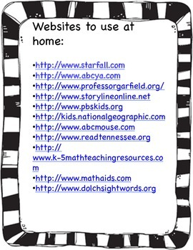 Website Resource for Parents