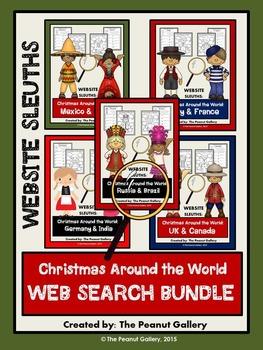 Website Sleuths: Christmas Around the World Bundle