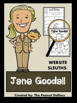 Website Sleuths: Jane Goodall