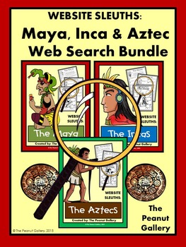 Website Sleuths: Maya, Inca & Aztec Bundle