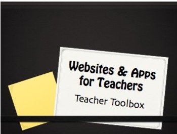 Websites for Teachers