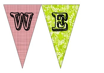 Wecome Bunting Sign