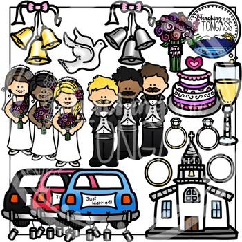 Wedding Clipart Bundle