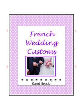 Wedding * Customs in France