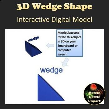 Wedge - 3D Shape