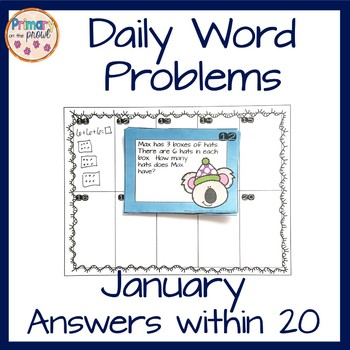 Wednesday Word Problems- January