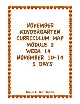 Week 14 Kindergarten Curriculum Aligned to Common Core Standards