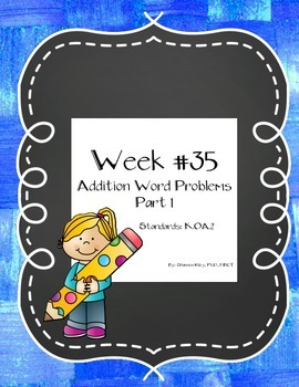 Addition Word Problems Part 1