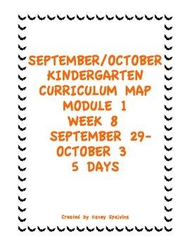 Week 8 Kindergarten Curriculum Aligned to Common Core Standards