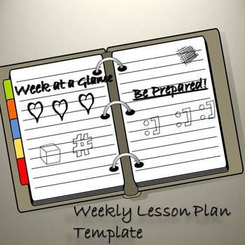 Lesson Plan Template: Week at a Glance