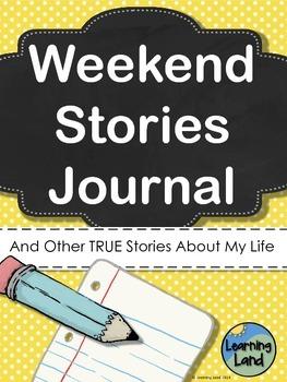 Weekend Stories Journal