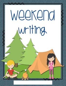 Weekend Writing Journal