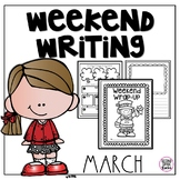 Weekend Writing March