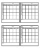 Weekly Behavior Chart to Use with Stamps