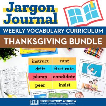 Thanksgiving Vocabulary