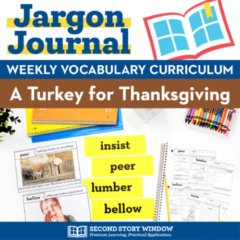 A Turkey for Thanksgiving Vocabulary