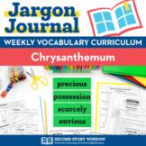 Chrysanthemum Vocabulary