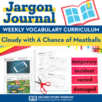Cloudy With a Chance of Meatballs Vocabulary