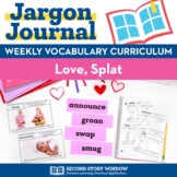 Love Splat Vocabulary