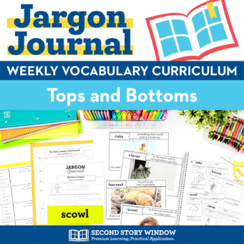 Tops and Bottoms Vocabulary