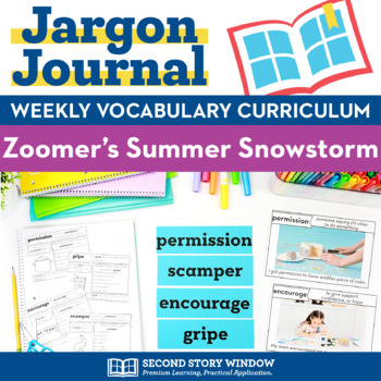 Zoomers Summer Snowstorm Vocabulary