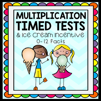 Multiplication Tests & Ice Cream Incentive