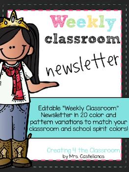 Newsletters-editable