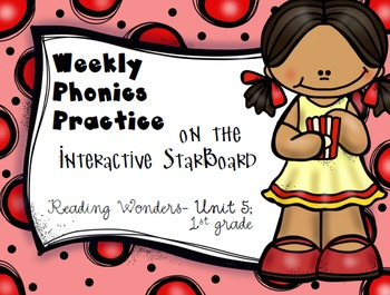 Phonics Practice for Reading Wonders on the StarBoard 1st