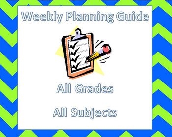 Weekly Planning Guide
