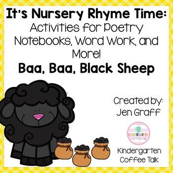 It's Nursery Rhyme Time: Baa, Baa, Black Sheep