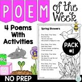 Poem of the Week with Original Poetry