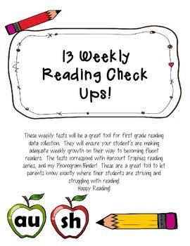 Weekly Reading Check Ups