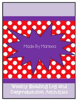 Weekly Reading Log and Activities