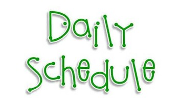 Weekly Schedule 8am - 4:30 (every 15 min.) in Excel
