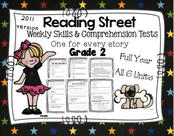 Weekly Skills, Vocabulary, and Comprehension Tests - Readi