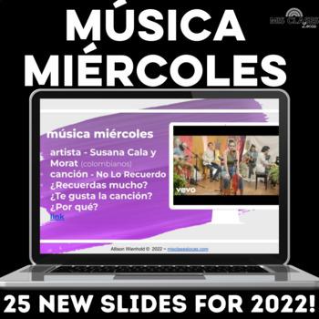Para Empezar: Música miércoles - Weekly Spanish Music Bell