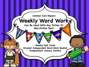Weekly Word Work
