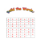Weekly Word Work Activity Packet