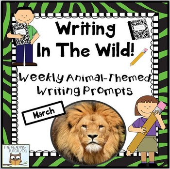 March Centers Weekly Writing Prompts