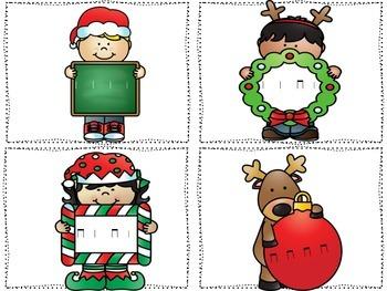 Christmas Post Office Ta and Ti-Ti {Freebie}