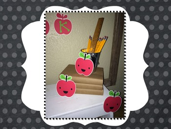 Welcome Back Apple Bulletin Board Accessories & Student Gi