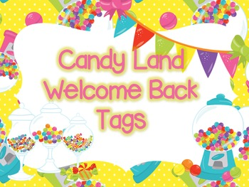 Welcome Back Bubbling to Meet you Tags: Meet the Teacher Tags