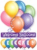 Welcome Back! Celebration Back to School Balloon Clip Art