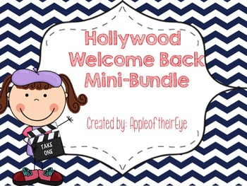 Welcome Back HOLLYWOOD THEMED Mini Bundle