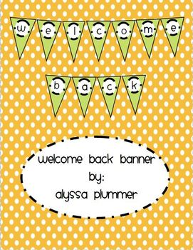 Welcome Back - Pennant