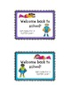 Back to School Postcards for Your Students