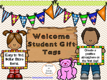 Welcome Back Student Gift Tags