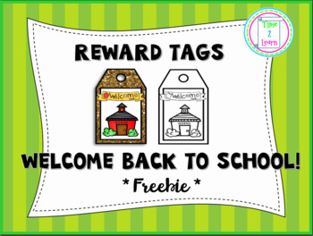 Welcome Back to School Brag Tag